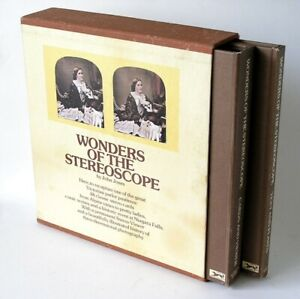 Wonders Of The Stereoscope by John Jones (1976) Book, Stereo Viewer, 48 Cards