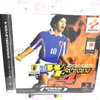 USED PS1 PlayStation 1 Winning Eleven 4 05518 JAPAN IMPORT