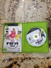 Working Xbox FIFA Soccer 2004 + Original Box & Manuals - Great Condition