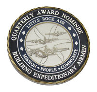 USAF Little Rock AFB Quarterly Award Nominee Challenge Coin