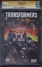 THE TRANSFORMERS 45 CGC SS 9.8 • SIGNED PETER CULLEN & FRANK WELKER • 1 VARIANT