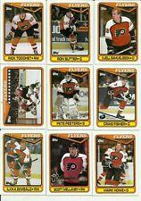 1990 Topps Philadelphia Flyers Team Set! Linseman, Murphy,Eklund, Hextall, Kerr