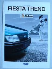 Prospekt Ford Fiesta Trend, 10.1994, 4 Seiten
