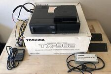 Toshiba Cd Auto Changer Tx-962 Car Audio System With Fm modulator Not Working!