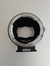 Metabones MB-EF-E-BT5 Sony E for Canon EF Mount Adapter Lens - See Details