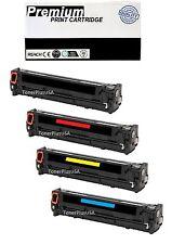 4pk CF210x CF211a CF212A CF213A Toner Cartridge Set For HP 131x Laserjet Pro 200