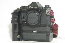 Canon F-1 N 35mm Fotocamera SLR Film Solo Corpo SN185500 con azionamento del motore AE FN * così come sono *