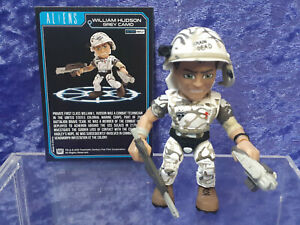 Loyal Subjects Aliens action Vinyls loose William Hudson White Camo 1/12