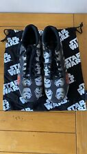 More details for custom adidas star wars stormtrooper trainers size 11uk