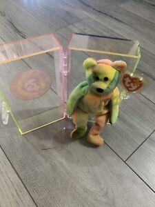 Ty Garcia beanie baby style 4051 born 8-1-95