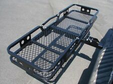 Folding Cargo Carrier Luggage Basket 2'' Receiver Hitch Truck SUV Pick Up Hauler