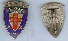 Cuirassiers -  3° Régiment cuirassiers émail ancien période Algérie C