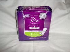 Poise Long Length Liners 44 Count - 2 Very Light Absorbency