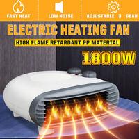 Electric Heater Air Warmer Fan 3 Heating Set Blower Floor Desk Home Office  ☆ab
