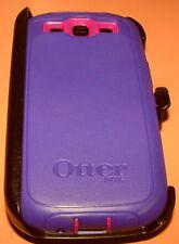 OtterBox Defender case for Samsung Galaxy S III, Purple & Burgundy, Ho