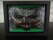 THE JOKER DC SUPER HERO COLLECTION FIGURINE BY EAGLEMOSS  IN A BOX FRAME