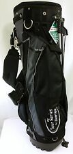 NEW Tour Series by Burton Stand Golf Bag Black Gray Padded Shoulder Strap