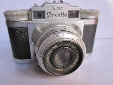 Braun Super Paxette Camera Leica Copy Industar 39mm Screw 50mm f3.5 Chrome lens