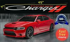 CHARGER WINDSHIELD banner CAR Decal sticker