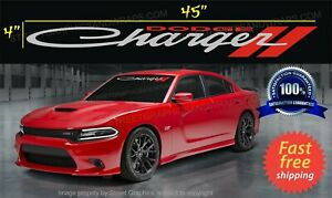 DODGE CHARGER WINDSHIELD banner CAR Decal sticker