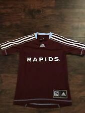 Colorado Rapids MLS Adidas Soccer Jersey Shirt - Size Youth Large