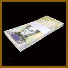 Venezuela 100000 (100,000) Bolivares x 25 Pcs Bundle, 2017 P-New Unc