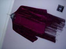 Velvet Floral Coats & Jackets Kimono for Women