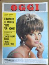 OGGI n°23 1966 Claudia Cardinale Stefania Sandrelli Campioni di Ciclismo  [G801]