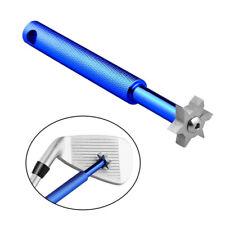 Golf Groove Sharpeners 6 Blades Iron Wedge Club Cleaner Multiuse Regrooving Tool