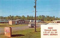 Postcard Perry Trailer Park in Perry, Georgia~129637