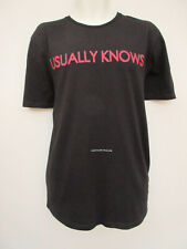 Zara Man - Mens Black Short Sleeved Cotton T shirt - size M/L