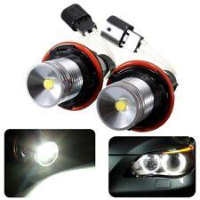 10W Weiß LED Angel Eyes Standlicht Halo Lampe Licht Für BMW E39 E60 E63 E64 E53