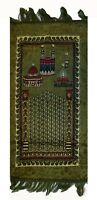 Muslim Prayer Rug/Islamic Janamaz Travelling Prayer Mat with 3 Gift Items,Green