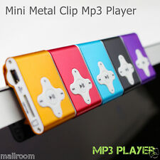 MP3 Player mit LCD Screen mit 32GB Micro SD Karte Clip Funktion Metal l+ Kable