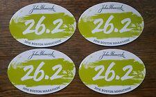 (4) 2016 Boston Marathon 26.2 Car Bumper Window Stickers Decal