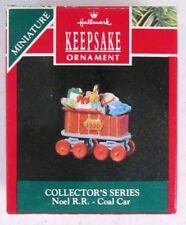 1990 Noel RR: Coal Car 2nd in Series (Hallmark Keepsake Miniature Ornament)