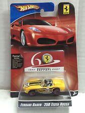 Mattel Hot Wheels Ferrari Racer 250 TESTA ROSSA MOC, 2007