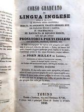 1840-JOHN MILLES-CORSO GRADUATO DI LINGUA INGLESE-2 ED ARRICCHITA-VOL 1