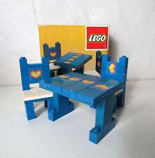 RARE LEGO 275 complet avec boite et notice table et chaise