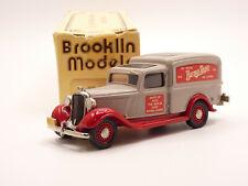 Brooklin BRK16 1/43 1936 Dodge Van Burma Shave Handmade White Metal Model Car