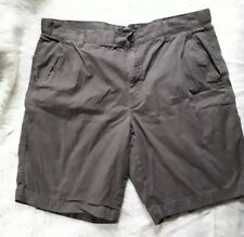 Marc Anthony Mens Army Green Shorts Size 36