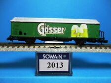 Sowa-N 2013 ÖBB Hbis Camion frigorifique, livreur Gösser, NEUF, neuf dans sa boîte, M 1:160