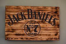 Jack Daniels Concealment Wall Art Rustic Bar, Man Cave