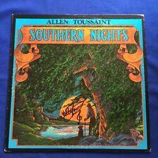 SOUTHERN NIGHTS - AUTOGRAPHED LP ALBUM BY ALLEN TOUSSAINT