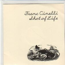 (EQ558) Franc Cinelli, Shot Of Life - 2013 DJ CD