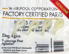 NEW GENUINE OEM PART 80040, 285770 WHIRLPOOL KENMORE WASHER AGITATOR DOGS