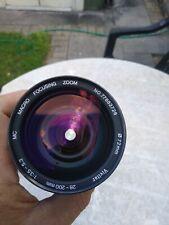 Vivitar 28-200mm f/3.5-5.3 MC Macro Focusing Telephoto Zoom Lens Pentax PK/A