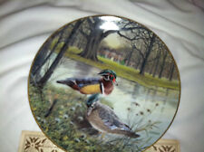 The Wood Duck by Bart Jerner Plate with CoA