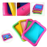 Kids Inflatable Toys Sand Tray Mobile Table Indoor Play Sandbox Toy YYL 60*45cm
