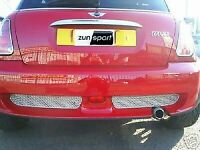 Zunsport REAR SPORTS GRILLE for BMW MINI AERO 2000-2006 ZBM4801B in BLACK